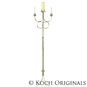 Double Ring Unity Candelabra