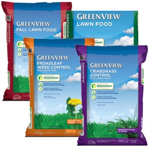 Greenview 4-Bag Lawn Fertilizer Program