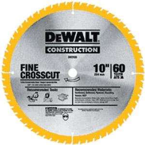 DeWalt 10'' Combo Pack Circular Saw Blades