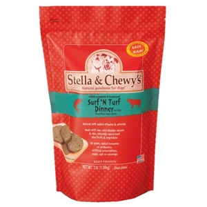 Stella & Chewys Surf & Turf Freeze Dried Dinner for Dogs
