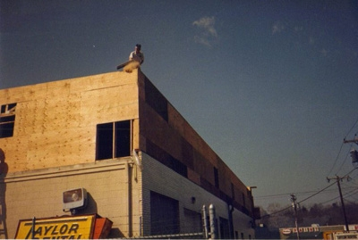 Adding the Second Floor to the Orange Store 1988