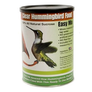 Clear Easy Mix Hummingbird Food