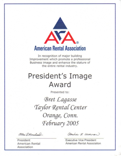 ARA President's Image Award 2005