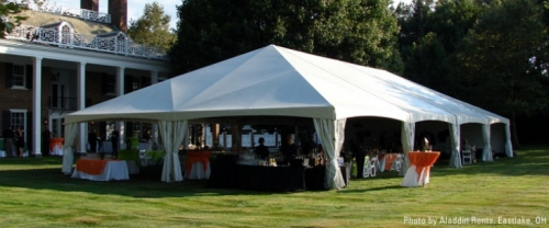 40' Wide Frame Tent