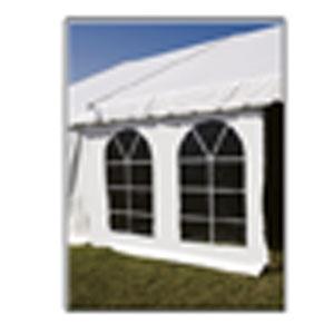 Delux 7'x 20' French Window Tent Sidewalls