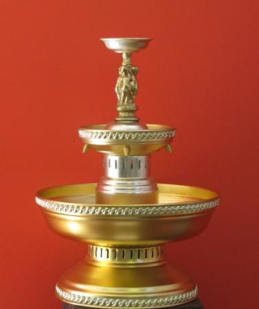 Gold 5 gal Fountain