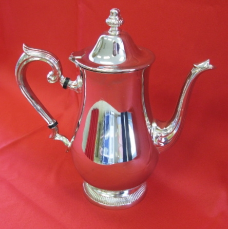 Silver Coffee Server 8 cup