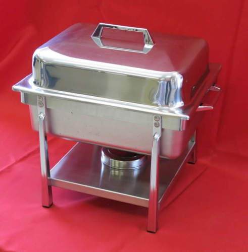 Chafer Stainless 4 qt Square 13