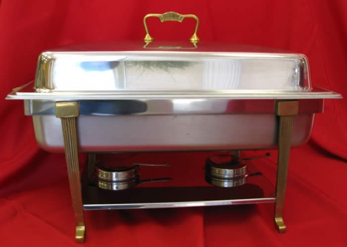 Chafer Stainless Rectangular 8qt 14