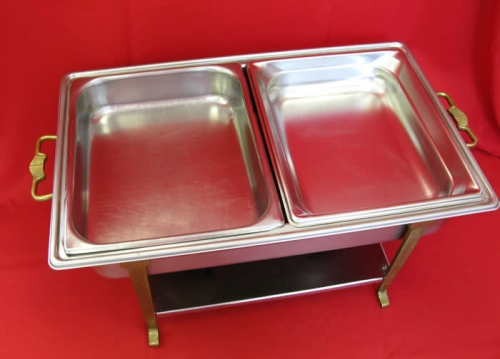 Chafer 1/2 pans 4 quart each