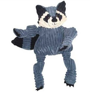 HuggleHound Racoon Dog Toy