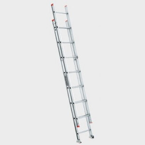 Louisville Ladder 16' Aluminum Extension Ladder type III