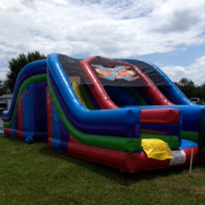 X Factor Inflatable Obstacle Course