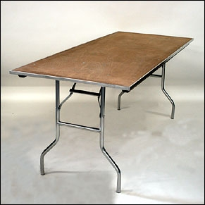 8' or 6' Banquet Tables $8.80 Each