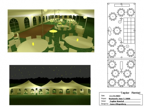 Tent Layouts