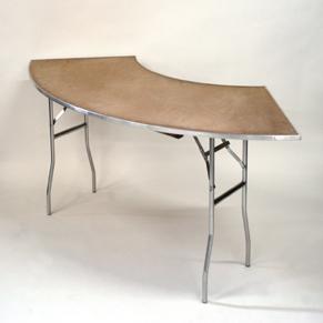 Serpentine Tables. $8.80 Each.
