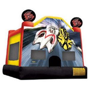 Ninja Jump Speed Racer Inflatable