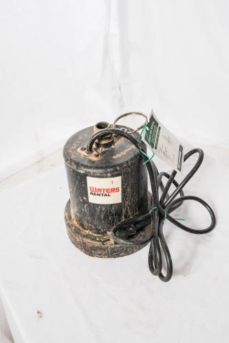 Pump, Submersible, Garden Hose