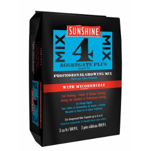 Sun Gro Horticulture Sunshine Mix #4 with Mycorrhizae 3 cu. ft.