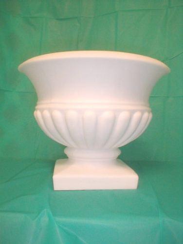 Flower Urn, White