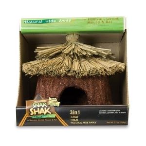 Small Animal Snak Shak Natural Hide Away