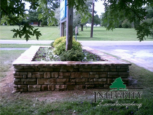 Raised Bed for Business Sign