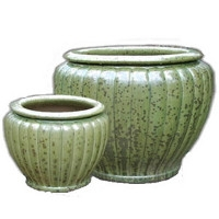 Outdoor Ceramic Glazed Pottery