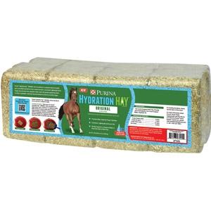 Purina® Hydration Hay™ Original Horse Hay Block