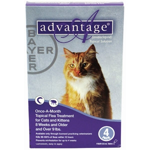 Advantage For Cats- Flea & Tick