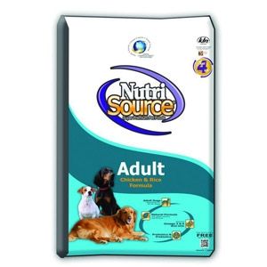 NutriSource® Adult Dog Chicken and Rice Formula