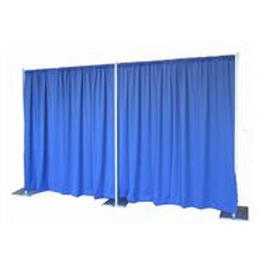 Pipe & Drape,Decorative - Rented by linear ft.