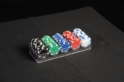 Poker Chips & Tray