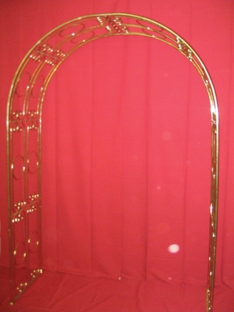 Brass Trellis/Arch