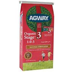Agway Organic Stage 3 Fertilizer 40lb