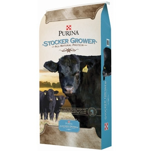 Purina® 4-Square Stocker/Grower Cattle Feed