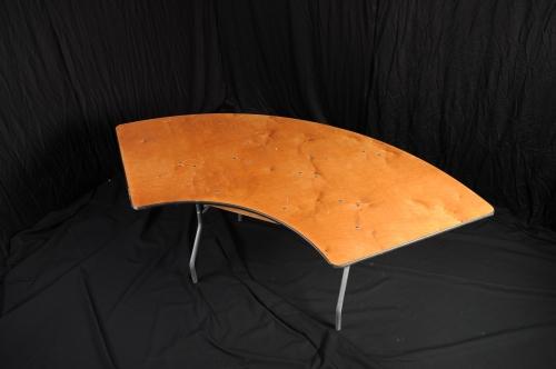 Table, Serpentine, 4 x 9