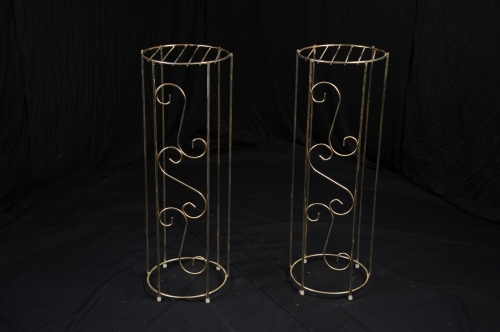 Plant Stand, Brass (pair)
