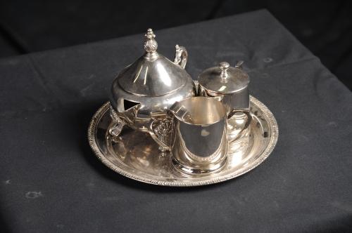 Tea Set, Silver