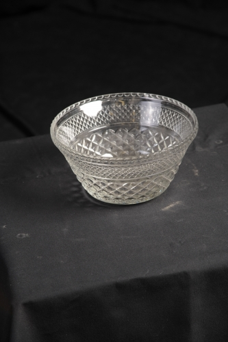 Punch Bowl, Crystal, Small