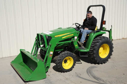 John Deere Tractor with Bucket
