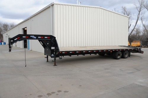 Trailer, Open, Goose, 2 5/16, DBL