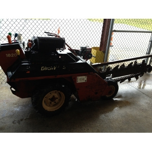 Ditch Witch Walk Behind Trencher 18hp w/ Trailer