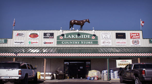 Lakeside Country Store Front New