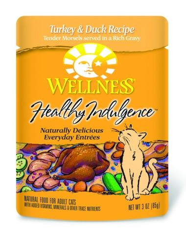 Wellness  Healthy Indulgence Turkey/Duck 3OZ