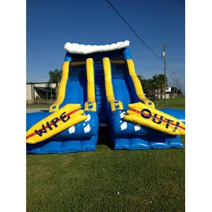 HEC Worldwide Double Wipeout Water Slide
