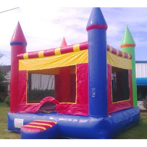 HEC Worldwide Red Castle Bounce House