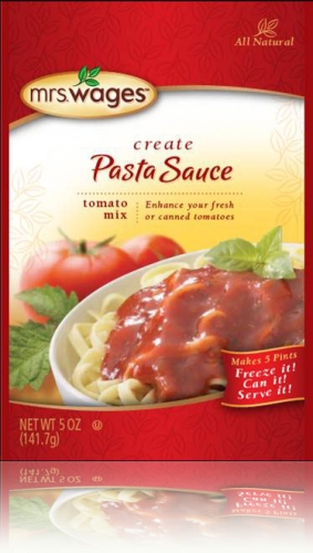 Mrs. Wages® Pasta Sauce Tomato Mix