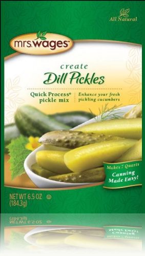 Mrs. Wages® Quick Process Dill Pickle Mix