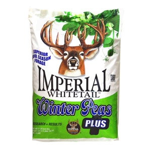 Imperial Whitetail Winter Peas PLUS Feed Plot Seed